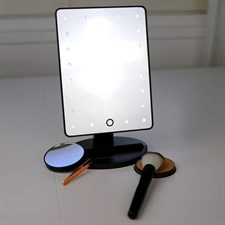 20pcs LED Lighted Makeup Mirror with Touch Screen
