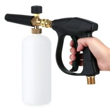 3000 PSI High Pressure Washer Gun W/ 1L Snow Foam Lance Bottle Car Cleaning