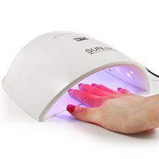 48W UV LED Nail Lamp Dryer Machine for Gel Polish Varnish with 3 Timer Setting