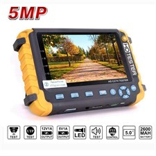 IV8W HD 5MP Analog Security Camera Monitor CCTV Tester AHD TVI CVI CVBS with PTZ UTP Cable Test