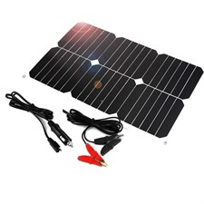 Solar Battery Charging Maintaner 12V 18W Solar Panel Charger for Automobiles