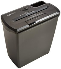 8 Sheet Strip-Cut Paper Shredder with CDs and Credit Card PBH-55473