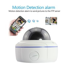 Amovision 2.0 Megapixel HD Network IP Dome Camera Night Vision