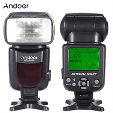AD-960II Flash Speedlite with LCD Display Standard Hot Shoe For DSLR Camera