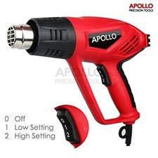 Apollo 2000W High Temperature 350 & 550°C DIY Hot Air Heat Gun