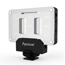 Aputure Amaran AL-M9 On Camera LED Video Light TLCI CRI 95+ USB Chargable with Carrying Case