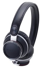 Portable Stereo HeadPhones - Black ATHRE700