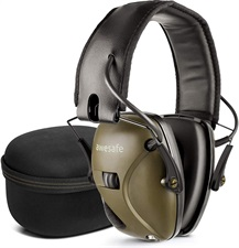 awesafe Electronic Shoooting Earmuffs Hearing Protection with Noise Reduction Sound Amplification