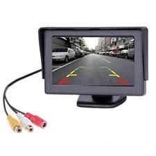 4.3 Inch Car Monitor TFT LCD Color Display Screen for Rear View Backup Camera