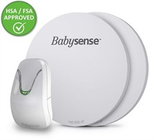 Babysense 7 Non Contact Infant Baby Breathing and Movement Monitor with 2 Sensor Pads