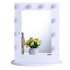 Chende Makeup Mirror with Dimmable Bulbs