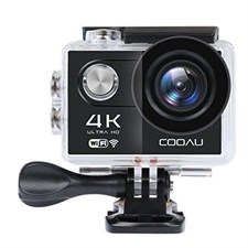 12MP 4K Ultra HD Action Camera, 30M Underwater Waterproof Sport Camcorder