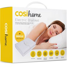 Premium Single Electric Blanket  Control with 3 Heat Settings