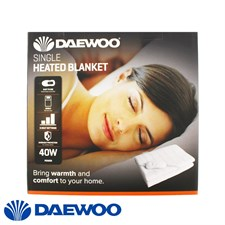 Daewoo Single Heated Blanket