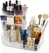 DECO EXPRESS Rotating Makeup Organiser