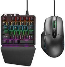 Delta essentials Mechanical Gaming Keyboard and Mouse Combo FO203 Blue Switch