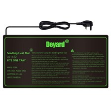 Deyard Waterproof Seedling Heating Mat Hydroponic Warm Heating Pad (10 x 20 )