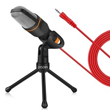 Condenser Recording Microphone 3.5mm Jack with Mic Stand