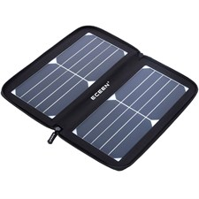 Solar Charger Panel with 10W High Efficiency Sunpower Cells Smart USB Output