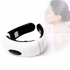 Electric Neck Massager Magnetic Cervical Vertebra Therapy