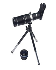 3 In 1 Smart Phone Lenses Kit 18X Telephoto Lens With Tripod