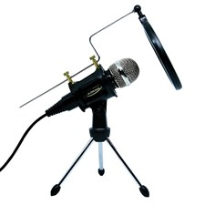 Plug & Play Professional Studio Condenser Microphone sets for iphone or PC