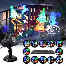 Christmas Projector 12 Moving Changeable Patterns Led Spotlight