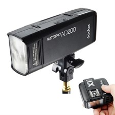 Godox AD200 Pocket Flash + Godox X1-T Trigger for  Nikon