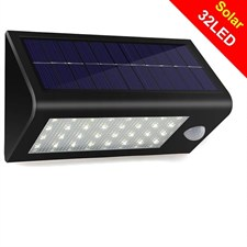 32 Led Solar Motion Sensor Light