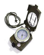 Waterproof Hiking Military Navigation Compass with Pouch