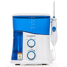 Hangsun Water Flosser Dental Oral Irrigator with UV Sterilizer 1000ml 7 Jet Nozzles