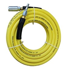 Hi-Viz Hose + Euro Tail+ Euro Coupling Hi Flow Air Line Fittings