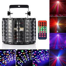 High Quality 9W 9Leds Butterfly Stage Light RGBW Indoor LED Stage Lights with Remote Control