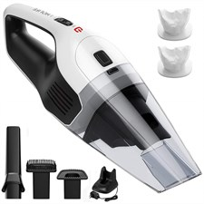 Handheld Vacuum Cordless Quick Rechargeable Wet & Dry - 6KPA