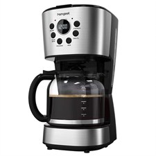 12-Cup Coffee Maker Programmable Drip Coffee Machine HM008-CM
