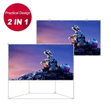Portable Outdoor Indoor 100 inch Projector Screen