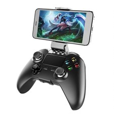 Wireless Adapter Joystick Gamepad Gaming Controller with Touch Pad for Smartphone