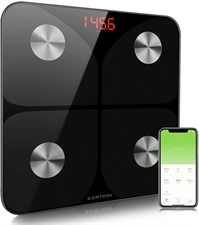 KAMTRON Smart Body Fat Scale Bathroom Body Composition Analyzer Monitor