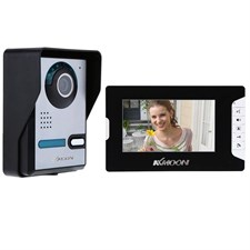 7 Inch Wired Video Door Phone Doorbell Intercom