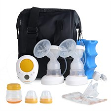Dual Electric Breast Pump with Go Cooler Bag