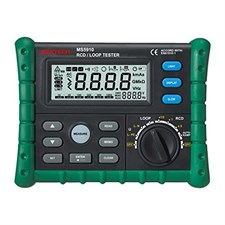MASTECH MS5910 Digital RCD / Loop Tester - Green