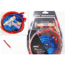 1500W Car Sub woofer Pure Copper Speaker Amplifier Wire Installation Kit