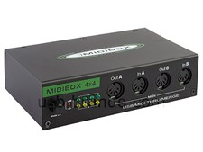 USB MIDI Interface 4i/4o + MERGE 2i - 4o