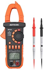 Meterk 4000 Counts Digital Clamp Meter Auto Range NCV AC/DC
