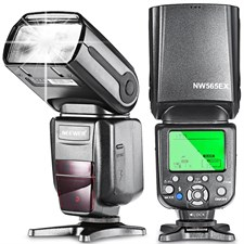NW-565EX TTL off Machine Speedlite with Flash Bounce Diffuser