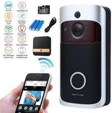 WiFi Video DoorBell Smart Video Doorbell 720P HD Wireless with Chime