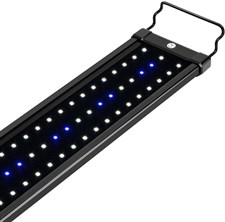 NICREW LED Aquarium Light, Fish Tank Light with Blue and White LEDs, 25W, Fits Aquariums 100cm in Le