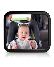 Adjustable Viewing Angle Back Seat Baby Safety Mirror