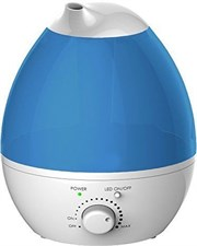 Ogima Cool Mist Ultrasonic Humidifier 1.3L With Aroma Diffuser