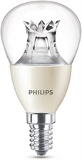 LED Warm Glow E14 Small Edison Screw Dimmable Mini Globe Light Bulb 4W (25 W)